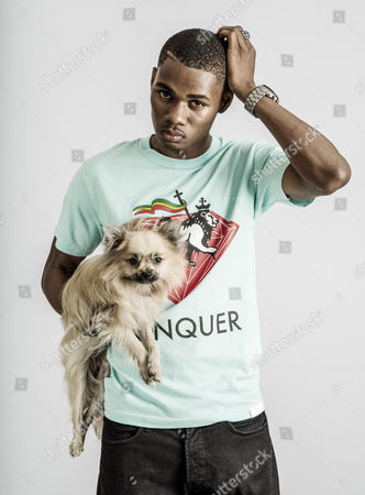 Warren Weir with his pet dog Tony