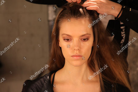 Stock Picture of Josefien Rodermans, backstage