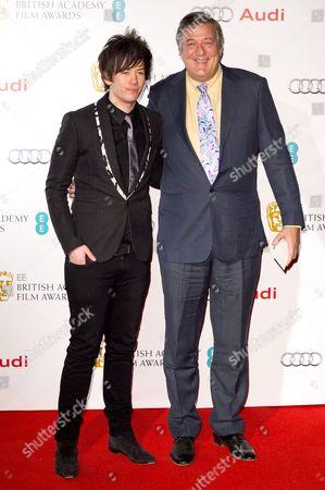 Elliot Spencer and Stephen Fry