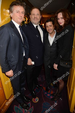 Editorial image of Charles Finch and Chanel Pre-BAFTA Dinner, Annabel's, London, Britain - 07 Feb 2015