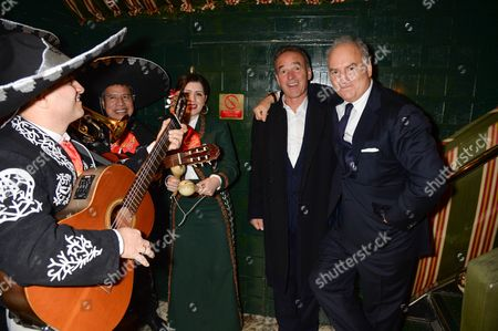 Nick Broomfield and Charles Finch