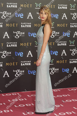 Editorial photo of Goya Awards Gala, Madrid, Spain - 07 Feb 2015