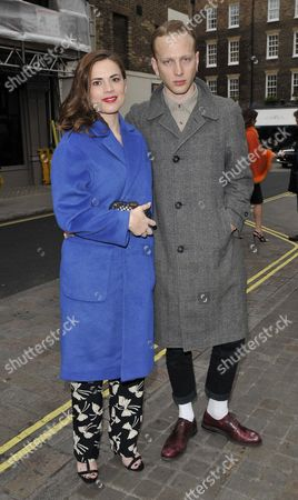 Hayley Atwell and Evan Jones