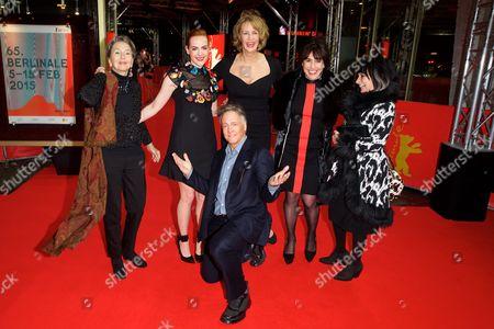 Jena Malone, Janet McTeer, Joyce Pierpoline (producer) and Mitchell Lichtenstein
