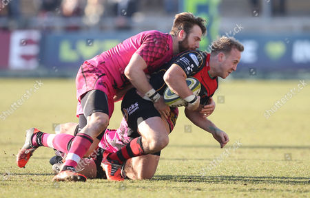 Editorial photo of Newport Gwent Dragons v London Welsh, LV= Cup, Britain - 8 Feb 2015