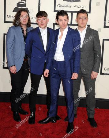 Arctic Monkeys - Nick O'Malley, Jamie Cook, Alex Turner, and Matt Helders