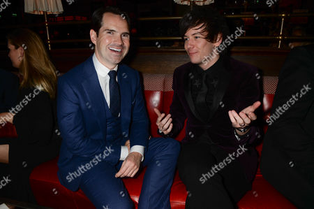 Jimmy Carr and Elliot Spencer