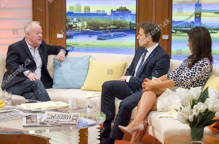 Keith Chegwin with Ben Shephard and Susanna Reid