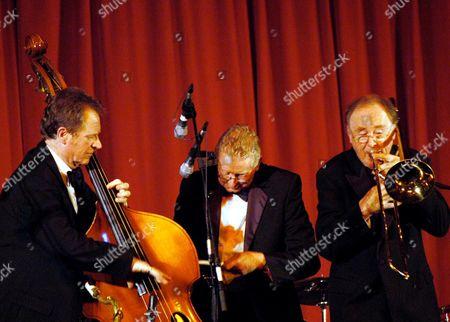 Chris Barber's Jazz Band - Vic Pitt, Colin Miller and Chris Barber