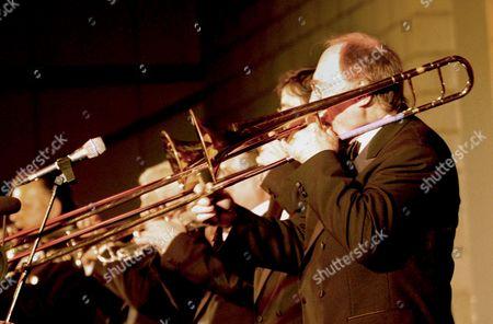 Editorial picture of CHRIS BARBER 'BIG JAZZ BAND' UK TOUR, BRITAIN - JAN 2004
