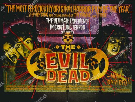 Stock Photo of 'The Evil Dead', a 1981 American horror film starring Bruce Campbell, Ellen Sandweiss, Ted Taimi, Betty Baker and Richard DeManincor.