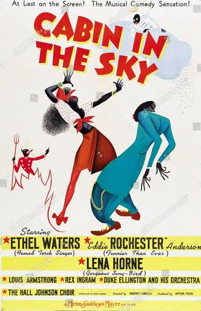 'Cabin in the Sky' starring Ethel Waters and Eddie Rochester a 1940 American musical.