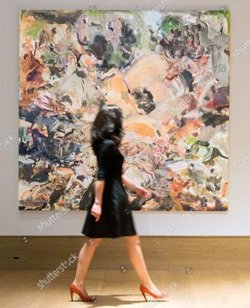 Cecily Brown, Skulldiver II, 2006.  Est: £280,000-350,000