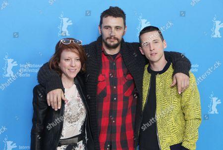 Lauren Selig, James Franco and Justin Kelly