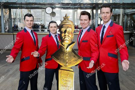 Editorial image of ITV's 'This Morning' announce their sponsorship of one of the Olivier Awards, London, Britain - 09 Feb 2015