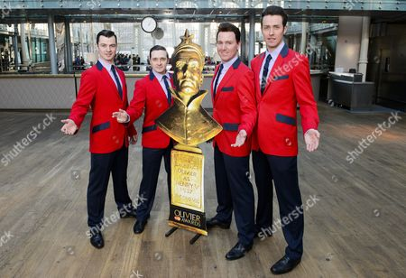'Jersey Boys' - Sandy Moffat, Edd Post, Jon Boydon and Matt Nalton