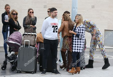 Lydia Bright, Lauren Pope, Billie Faiers, Leah Wright, Bobby Cole Norris and Danielle Armstrong