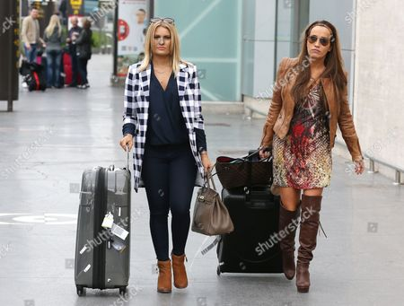 Danielle Armstrong and Leah Wright