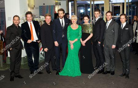 Moritz Bleibtreu, Justus von Dohnanyi, Helen Mirren, Ryan Reynolds, Max Irons, Daniel Bruhl, Tom Schilling
