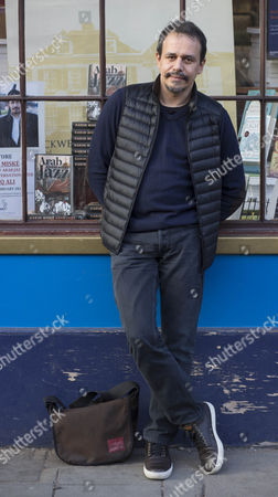 Editorial image of Karim Miske 'Arab Jazz' book promotion at Blackwell's, Oxford, Britain - 09 Feb 2015
