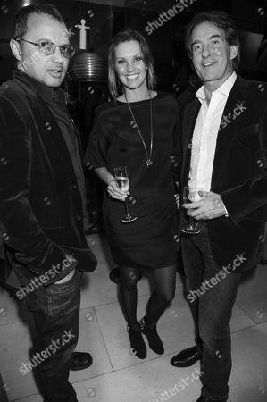 Gerry DeVeaux, Malin Johansson and Tim Jefferies