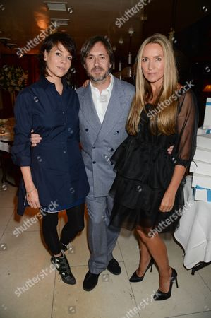Charlotte Stockdale, Marc Newson and Collette Dinnigan