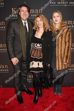 Jonathan Ross, wife Jane Goldman and daughter Honey Kinney