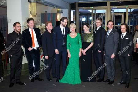 Moritz Bleibtreu, Justus von Dohnanyi, Helen Mirren, Ryan Reynolds, Max Irons, Daniel Bruhl and Tom Schilling