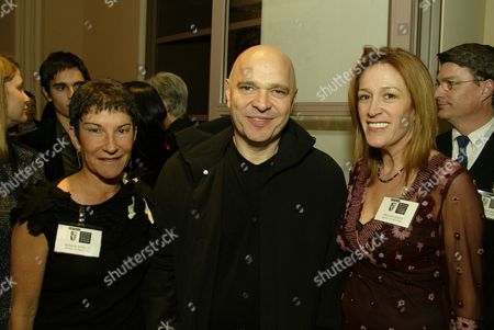 Rosalie Swedlin, Anthony Minghella and Melanie Greene
