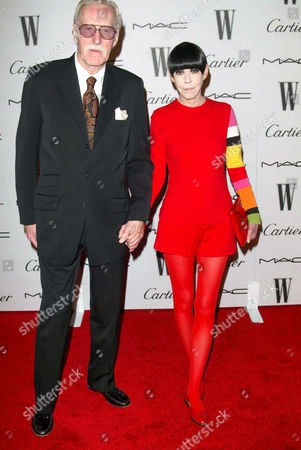 Stock Picture of WILLIAM CLAXTON AND WIFE Peggy Moffitt