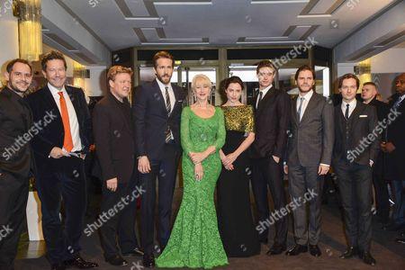 Helen Mirren, Ryan Reynolds, Justus von Dohnanyi, Antje Traute, Tom Schilling, Daniel Bruhl