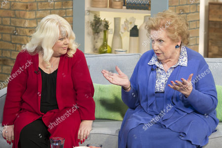Stock Image of Karen Marley and Denise Robertson