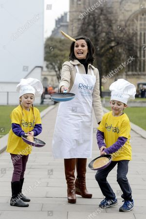 Nina Hossain and twins Violet and Laurie Coekin-Reffell (age 6)