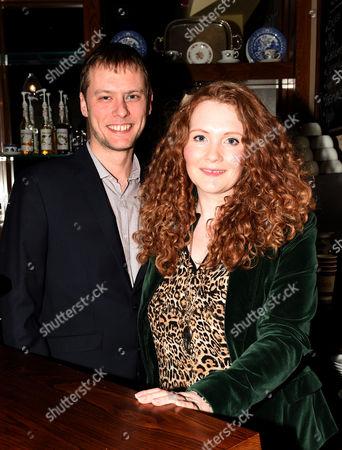 Jennie McAlpine and partner Chris Farr
