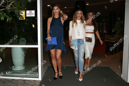 Ferne McCann, Lauren Pope and Leah Wright