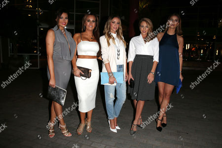 Jessica Wright, Leah Wright, Lauren Pope, Lydie Rose Bright and Ferne McCann