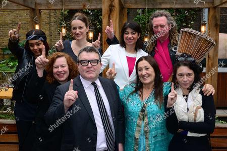 Paigey Cakey, Sarah Jane Morris, Kate Smurthwaite, Tom Watson, Seema Malhotra, Lynne Franks, Tom Morley of Scritti Politti, Orsola de Castro