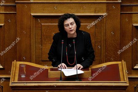 Nadia Valavani, Alternate Minister of Finance