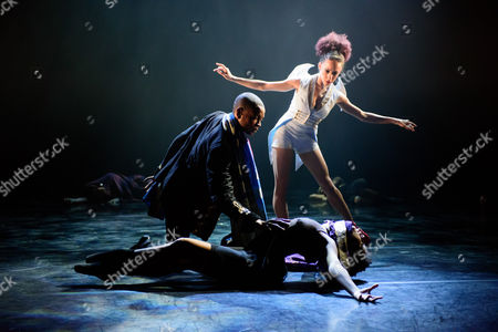 Editorial image of Ballet Black presents 'Second Coming', the Linbury Studio, Royal Opera House, London, Britain - 10 Feb 2015