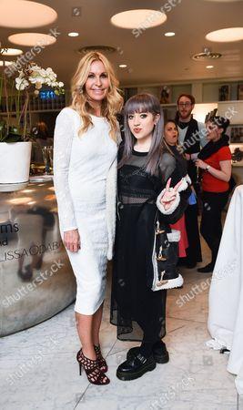 Melissa Odabash and Leah McFall