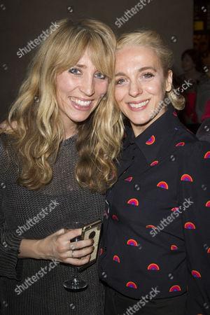 Daisy Haggard and Amanda Abbington