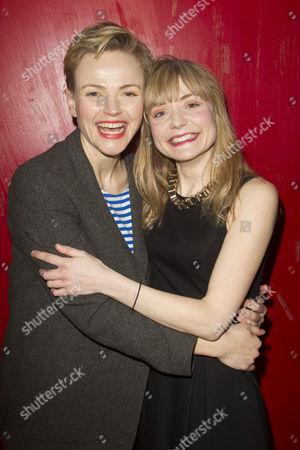 Maxine Peake (Dana) and Christine Bottomley (Jasmine)