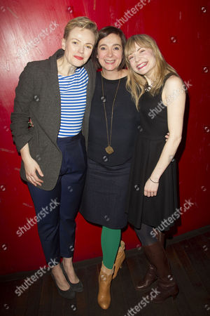Maxine Peake (Dana), Vicky Featherstone (Director) and Christine Bottomley (Jasmine)