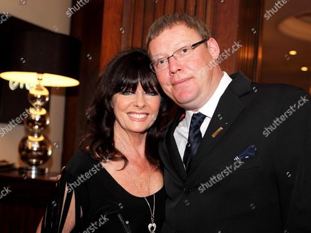 Stock Photo of Vicki Michelle MBE and Ricky Groves