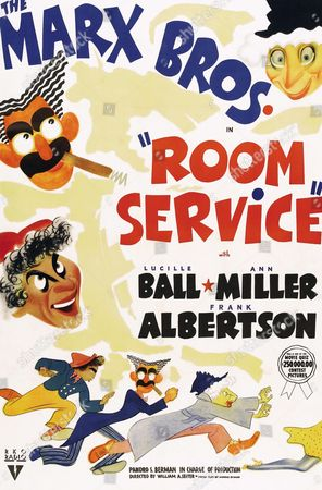 Room Service is a 1938 film comedy starring the Marx Brothers and based on the 1937 play of the same name by Allen Boretz and John Murray. It co-stars Lucille Ball, Ann Miller, Alexander Asro, and Frank Albertson..