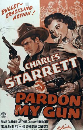 Pardon My Gun is a 1930 American film directed by Robert De Lacey. Starring Sally Starr, Tom Keene and Mona Ray..