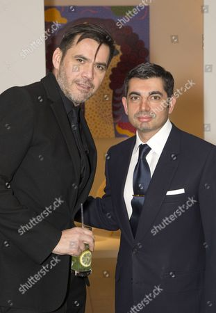 Roland Mouret and Francis Sultana