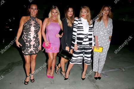 Leah Wright, Billie Faiers, Jessica Wright, Lydia Wright and Ferne McCann