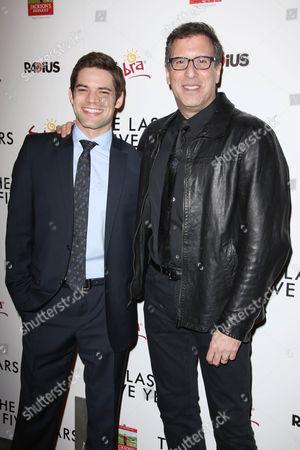 Jeremy Jordan and Richard LaGravenese