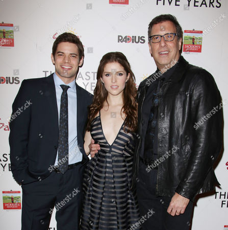 Jeremy Jordan, Anna Kendrick and Richard LaGravenese